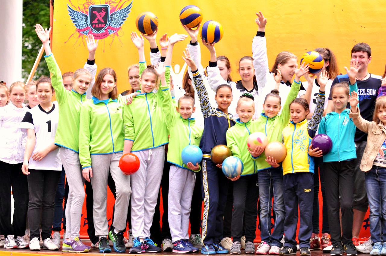 Спортивный праздник посвященный Дню Победы, г.Киев